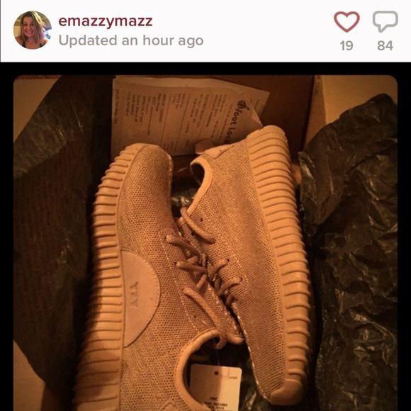 Fake Yeezys!! She blocked me ... Yeezy Shoes