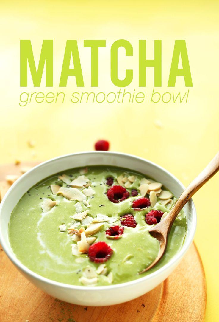 Matcha Green Smoothie Bowl