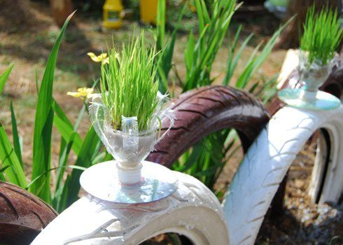 plastová váza