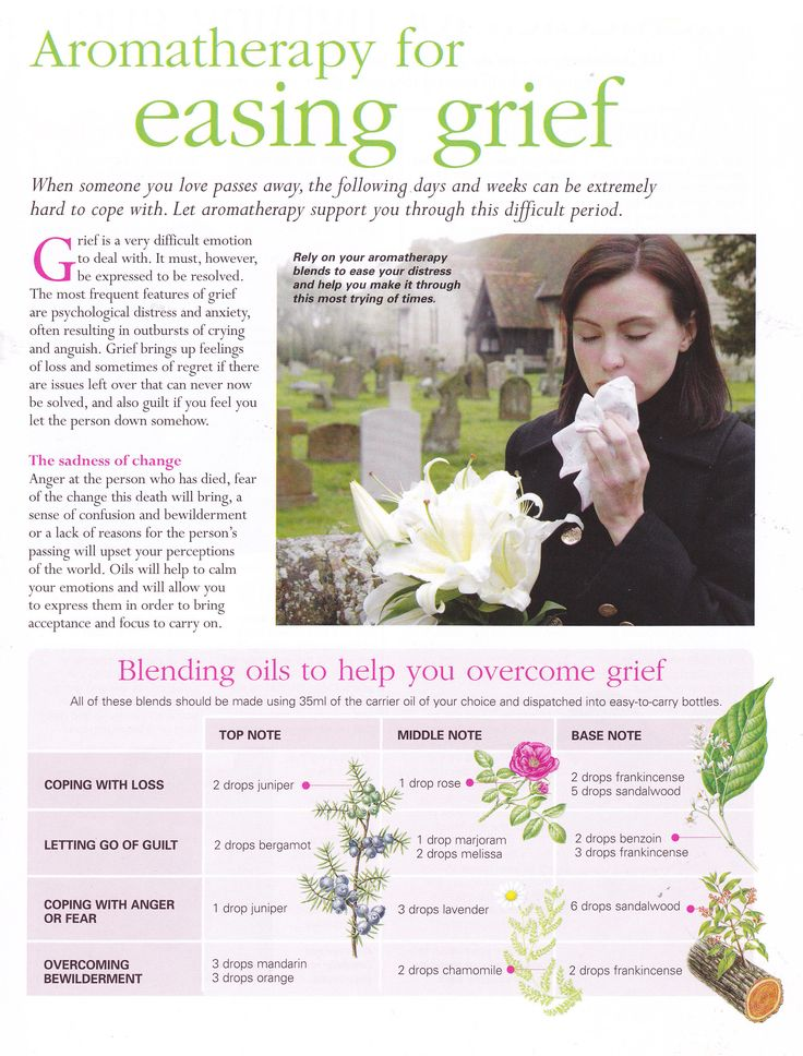 Young Living Essential Oils: Emotions Grief