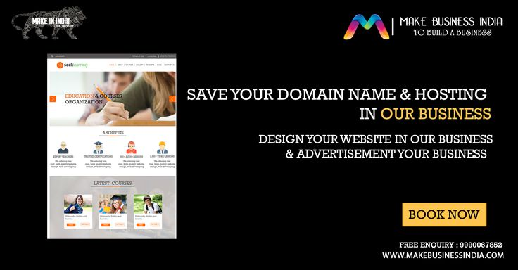 book your #business #hosting & #domainname  space in your business for advertisement