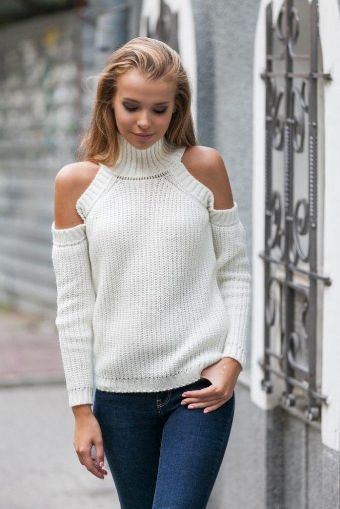 модные женские кофточки 2018 2019 вязаные вещи свитер вязание и