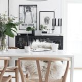 We hear often that many folks are paralyzed about how to start decorating their home. We don't blame you; there are a lot of things to think about/consider/decide. If you've been living in a blank or boring room for too long, what you might need is a narrow set of guidelines to stick to so you can get started. And a limiting but still fabulous palette is just the way to go. Black, white and wood tones might seem too simple, but you'll see that mastering this easy look creates sophisticated…