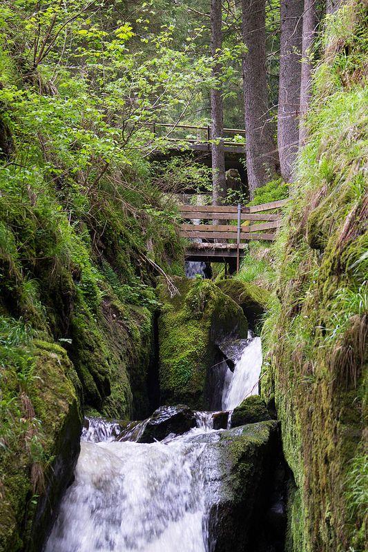 Wasserfall in Menzenschwand im Schwarzwald