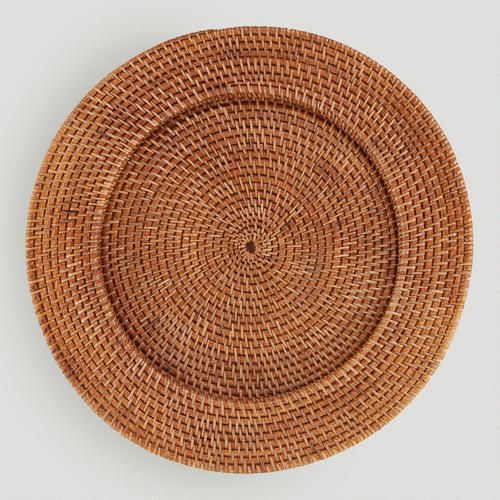 Rattan Charger at Cost Plus World Market >> #WorldMarket Thanksgiving Entertaining #Holiday