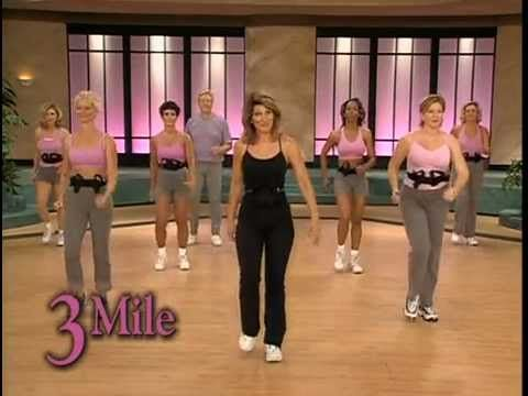 ▶ Walk Away the Pounds with Leslie Sansone 3 Mile Abs 46 min Fitness DVDRip TG - YouTube