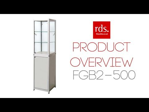 FGB2 500 Folding Exhibition Cabinet With Storage   Folding Display Cabinets    Exhibition Display Cabinets. Portable ...