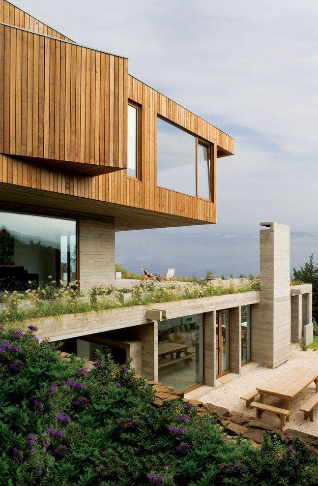 El pangue, V Región, Chile  Casa el Pangue  Elton + Leniz arquitectos asociados #architecture #design #luxury #architect #dreamhome #dreamhouse #love #house #home #modern #create #build #interior #exterior
