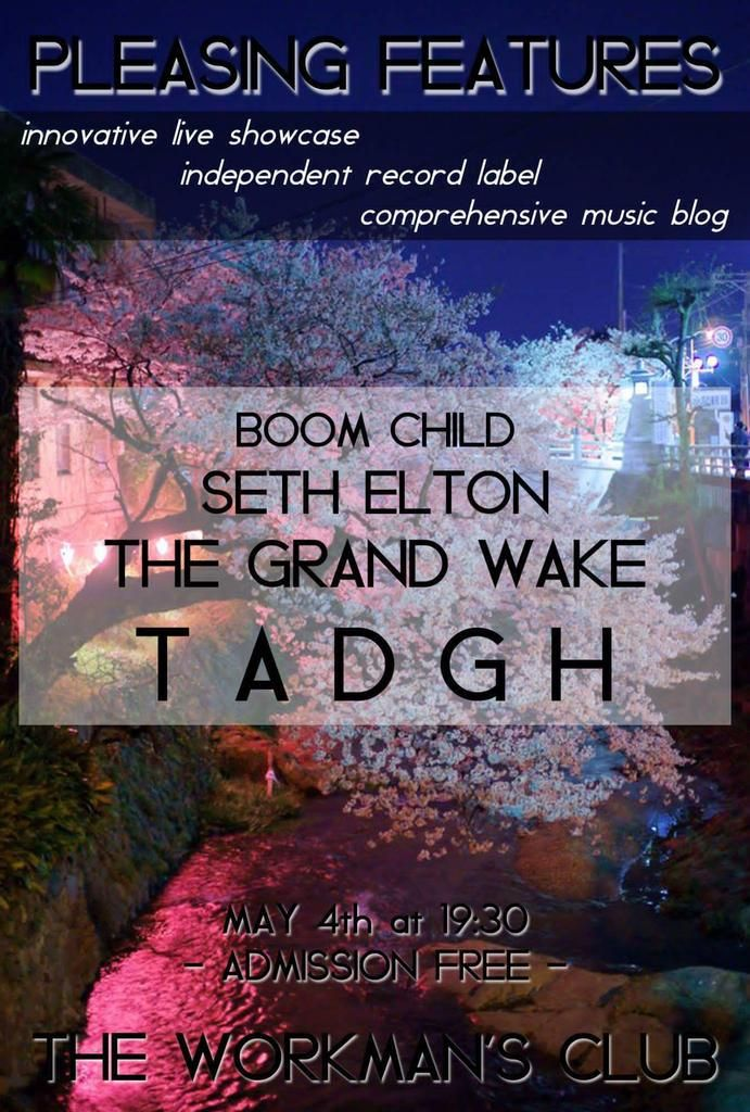 Catch @TADGHOfficial performing his first #headlinegig with the band this #BankHolidaymonday @WorkmansDublin