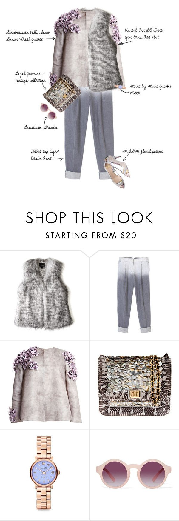 """""""collezione invernale"""" by fashionscribbles ❤ liked on Polyvore featuring Unreal Fur, TIBI, Giambattista Valli, Angel Jackson, Marc by Marc Jacobs, highfashion, Collezione and INVERNALE"""