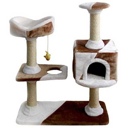 Фауна Интернешнл Комплекс (игровая площадка) для кошек Camila, 73*40*105 см, Fauna international