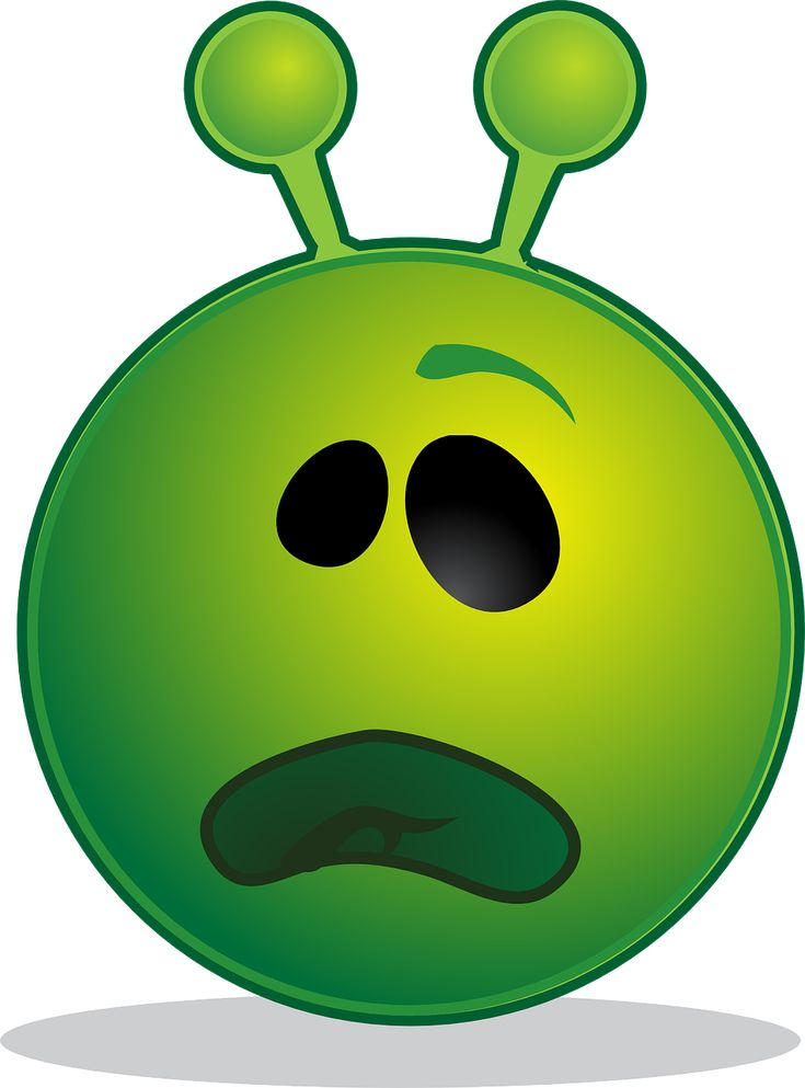 Alien, Smiley, Emoji, Emoticon, Expression, Computer