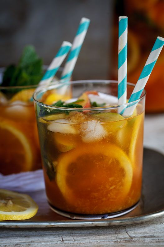 Rooibos tea peach punch | Simply Delicious #Recipe #Drinks #Cocktail #Summer