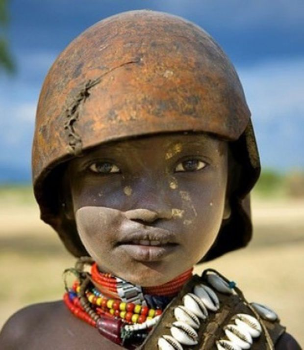 Un enfant en Ethiopie