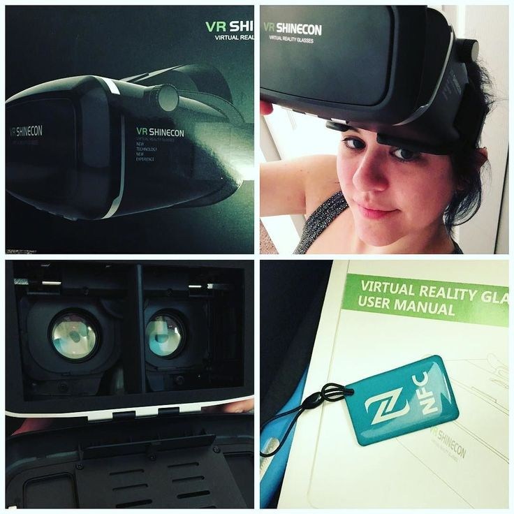 An awesome Virtual Reality pic! #productreview #vrshinecon #vrglasses - I love this! My previous experience with modern #vrgoggles was limited to Google Cardboard before now but this actually fits my iPhone 6s Plus and has a comfortable head strap so I don't have to hold it awkwardly. The soft lining around the eye piece makes it snug and comfortable around the eyes and it has a couple points for adjustment on it as well. I didn't knock a star off for this because it doesn't affect the use…