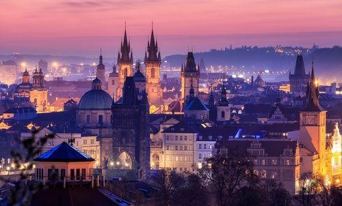Чехия.Прага. #sunset