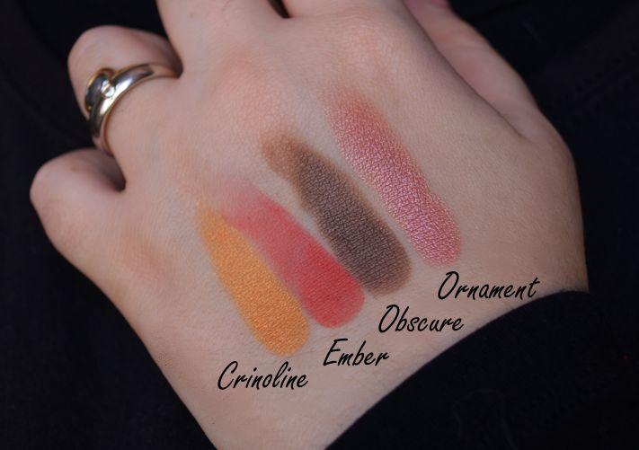 Mistero Barocco di Neve Cosmetics: swatches e prime impressioni | Make up Pleasure