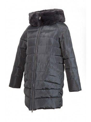 Пальто (темно-серый)