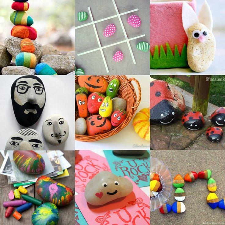 Kamieniem malowane gry i zabawy
