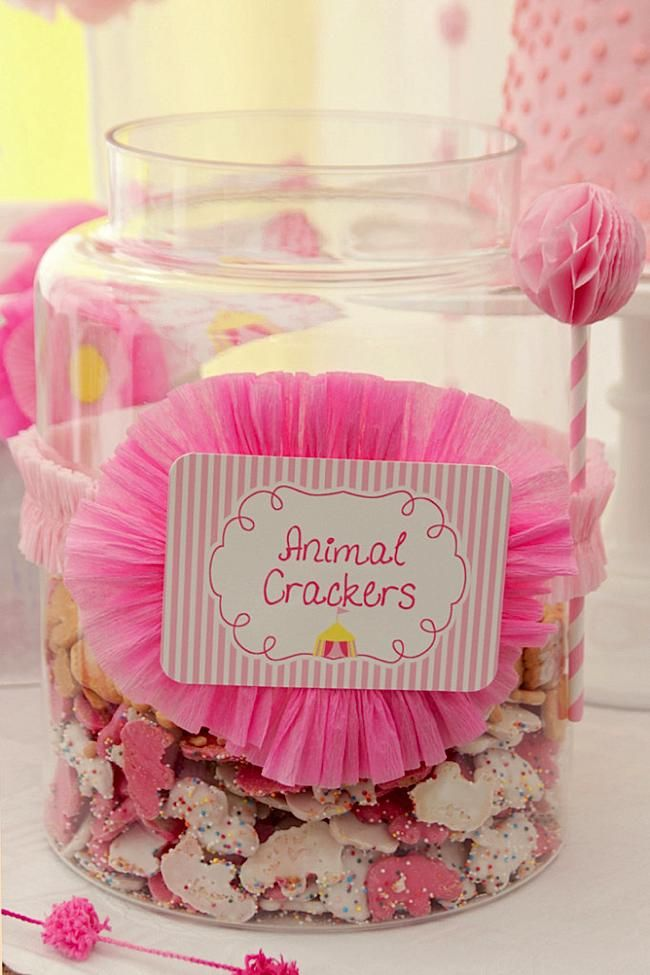 Adorable Animal Cracker Idea wedding snack at night!