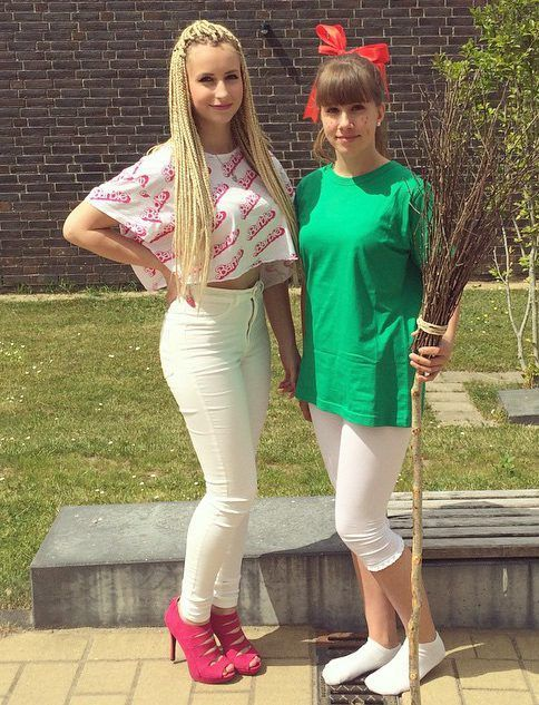 Bibi Blocksberg Kostüm selber machen | Kostüm Idee zu Karneval, Halloween & Fasching