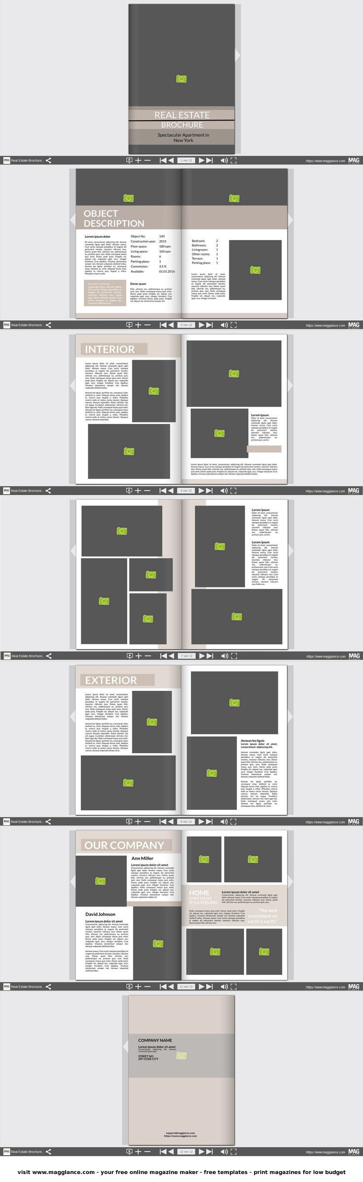 8 best Immobilien Branding images on Pinterest | Page layout, Real ...