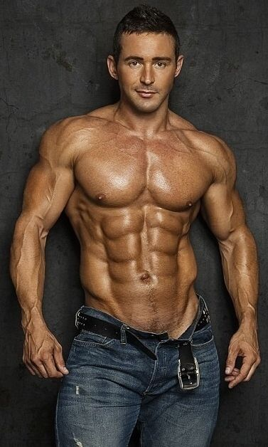 SEXY, LARGE and IN CHARGE. Alpha Muscle Hunks.http