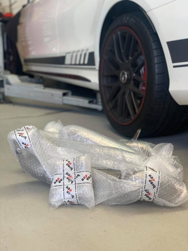 Mercedes C63 C63 S w205 c205 a205 catted downpipes