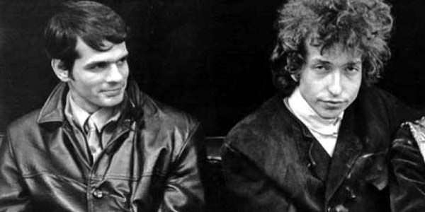 """Al Kooper and Bob Dylan 