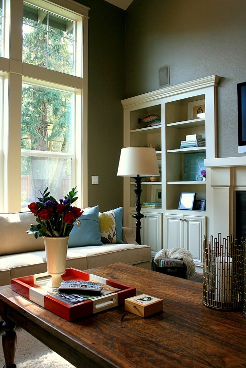 Built ins: Janel Beals, Built In Bookca, Built Ins, Living Rooms Design, Builtin, Traditional Living Rooms, Paintings Color, Cabinets Design, Families Rooms