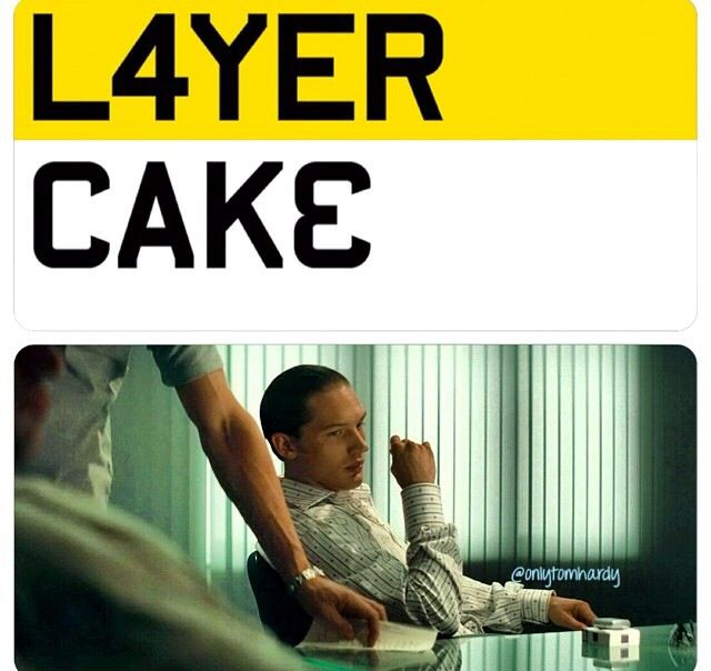 Tom a Hardy Layer Cake