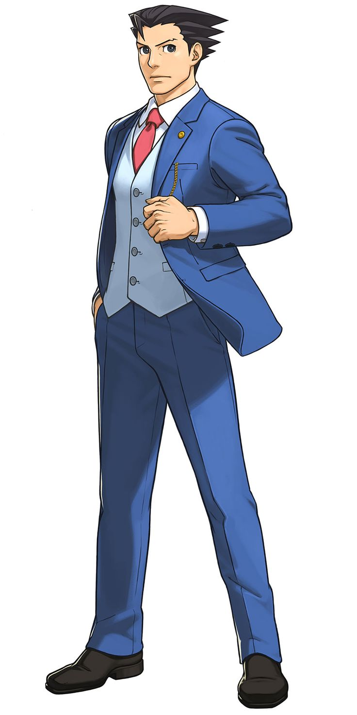 Phoenix Wright: Ace Attorney Dual Destinies - Phoenix Wright