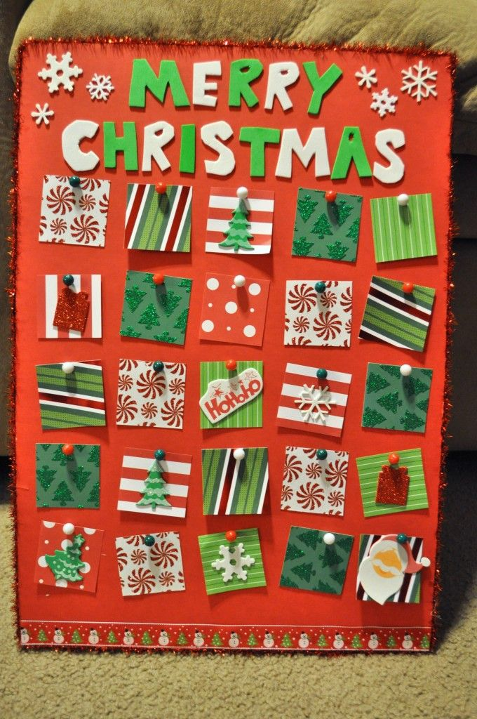 Advent Calendar Craft Kindergarten : Advent calendar activities comfy cozy christmas
