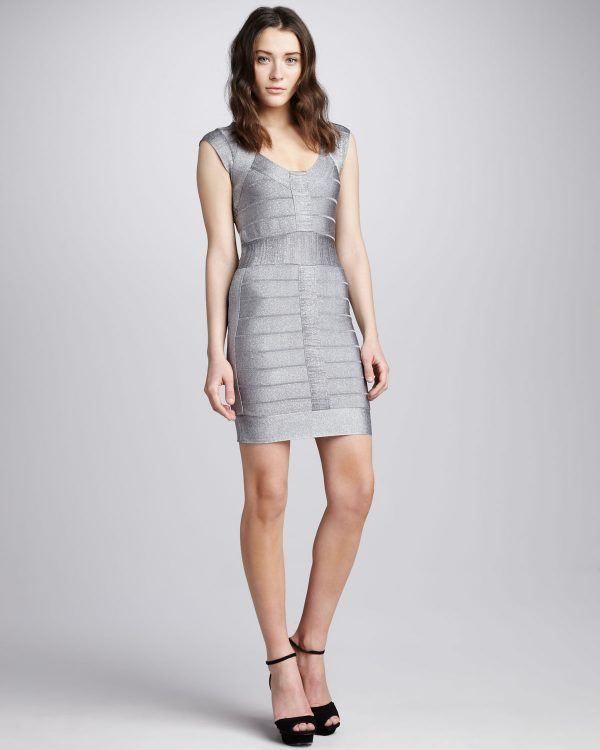 Silver Work Dresses Knit