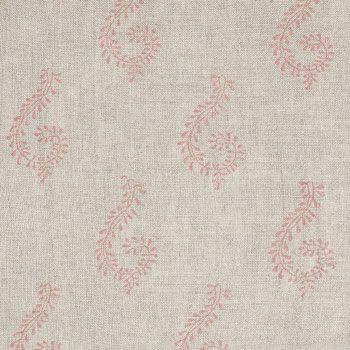 Rose Shalini Linen Fabric - 321