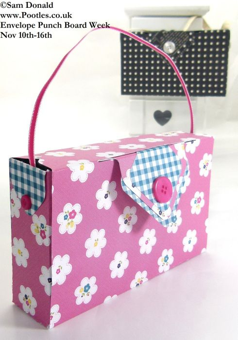 POOTLES Stampin Up ENVELOPE PUNCH BOARD WEEK The Clutch Bag 4