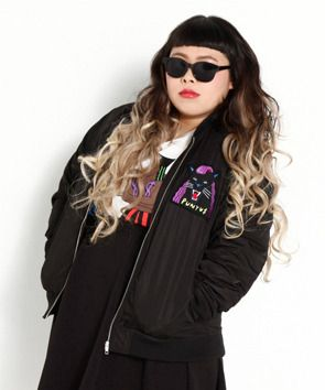 Punyus Jacket - Punyus is a new fashion label in japan for plus sizes!