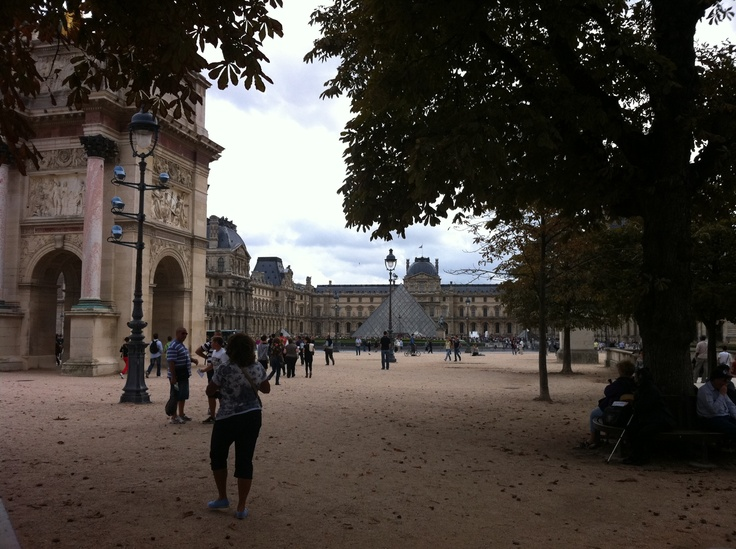 Cloudy day in Paris 2011