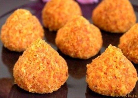 Сыроедческое печенье из моркови и кокоса / Сыроедческие и вегетарианские рецепты