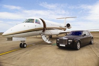 Private Jet & Chauffeur services