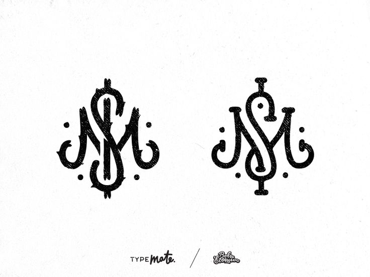 just sketches ;)  As usual .. did the different style logo, not generally monogram..... distracted - and i create this :)  www.typemate.pro  https://www.instagram.com/typemate.pro  https://twitter....