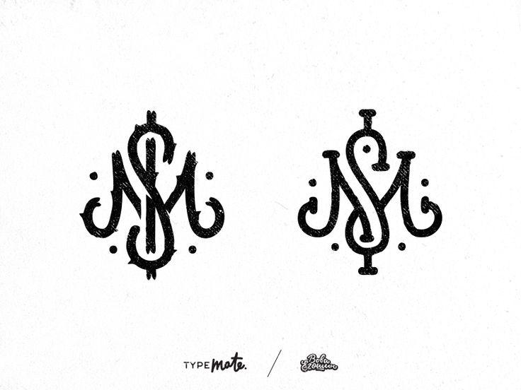 MS/M$ monogram by Typemate