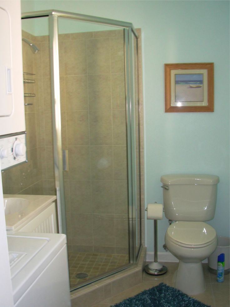 10 best images about remodel ideas bathroom on pinterest for Washer and dryer in bathroom designs