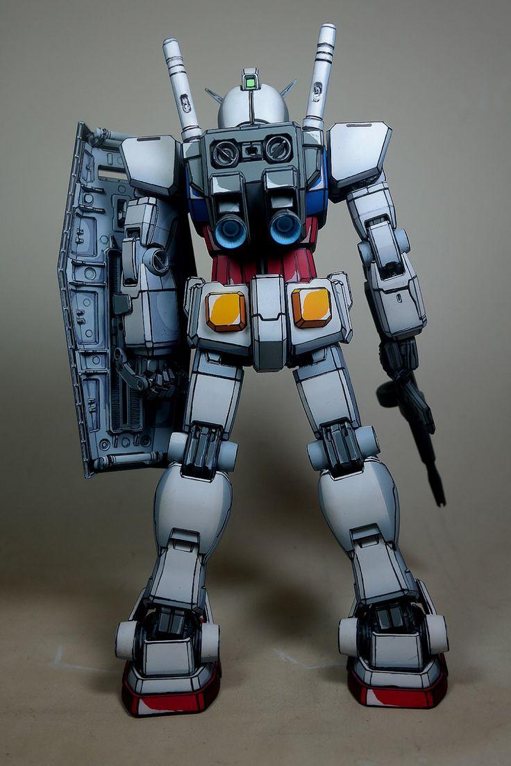 PG 1/60 RX782 Gundam [Anime Colors] Painted Build【2020