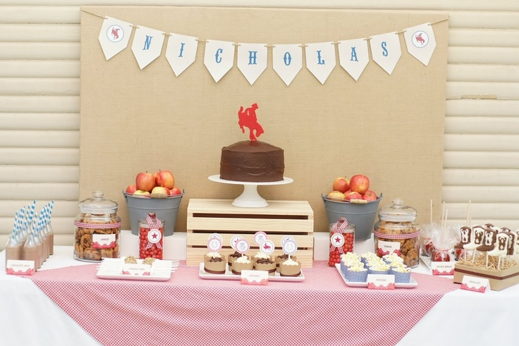 dessert table bunting - Google Search