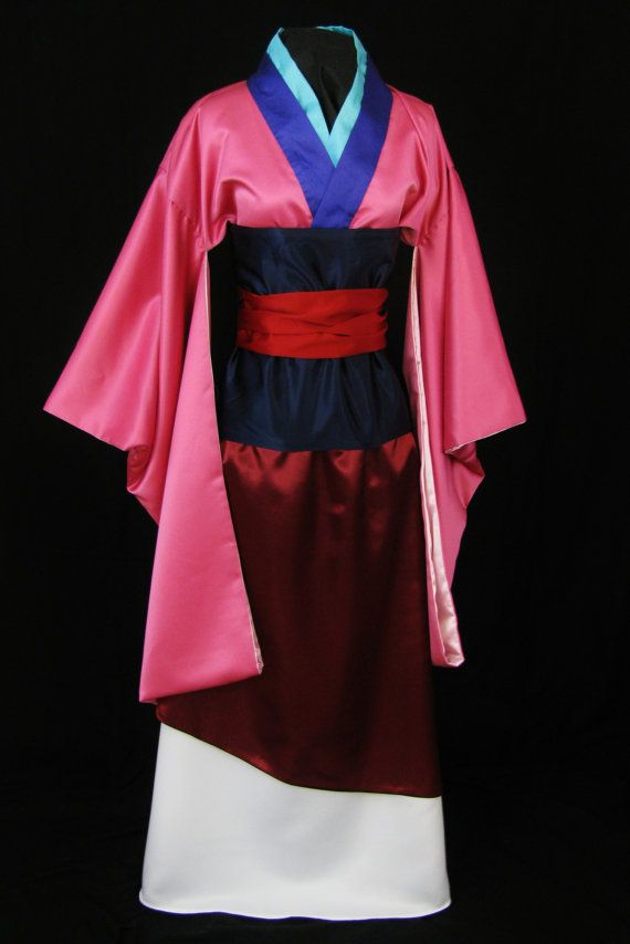 Adult Mulan Costume Custom Made by NeverbugCreations on Etsy, $600.00