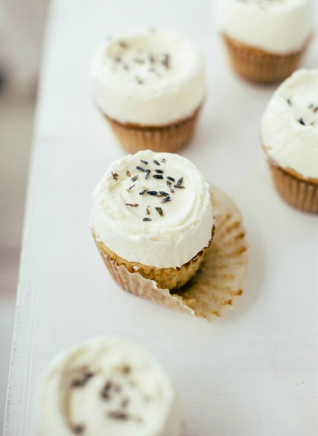 vanilla lavender cupcakes: the year of pulse
