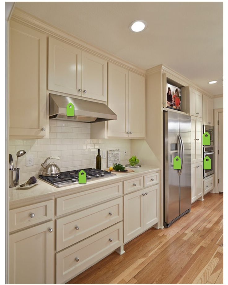 Kitchen Paint Colors With Cream Cabinets: 1000+ Ideas About Cream Colored Cabinets On Pinterest