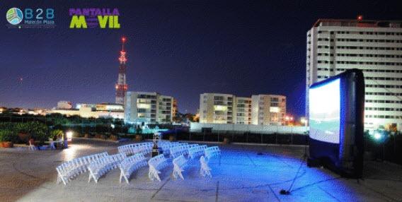 Pantalla Móvil, Cine al Aire Libre – Cine Club Cancún