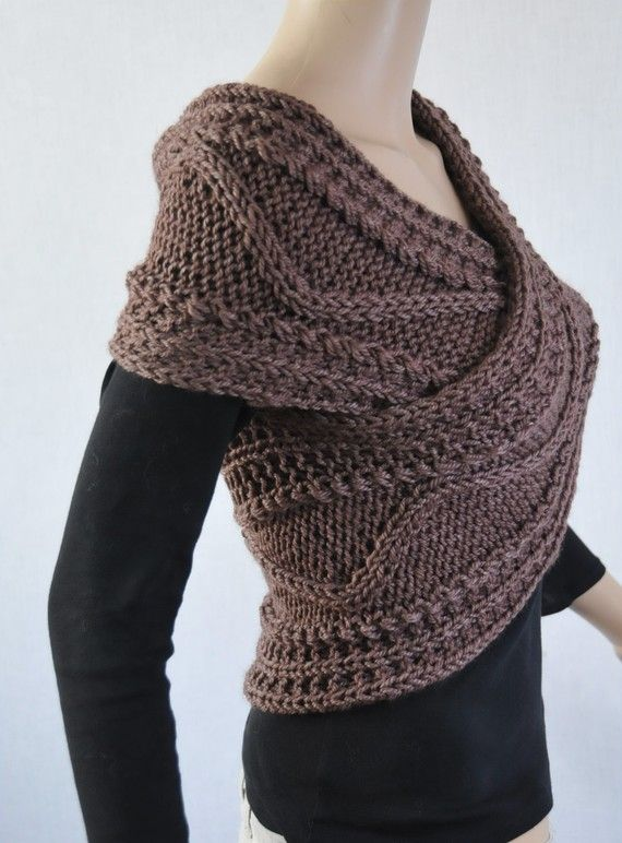 Hand knit sweater Cross Sweater